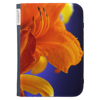 Orange Lily Bouquet Kindle Cover