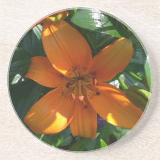 Orange Lily Coaster