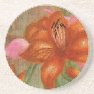 Orange Lily, Coaster