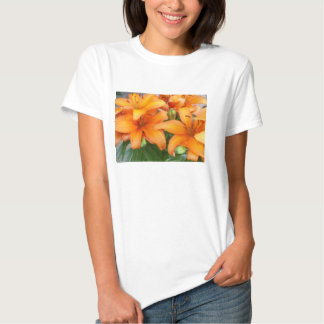 Orange Lily Flowers T-shirts