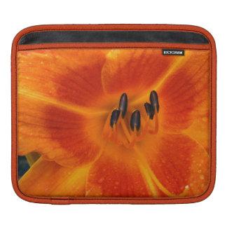 Orange Lily ipad Sleeve
