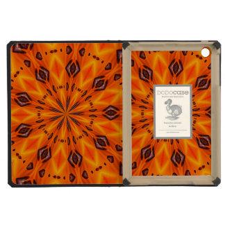Orange Lily Medallion iPad Mini Cases