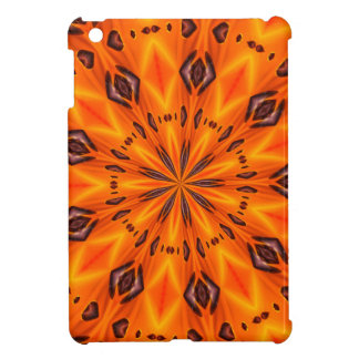 Orange Lily Medallion ipad Mini Cover