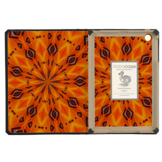 Orange Lily Medallion iPad Mini Retina Cases