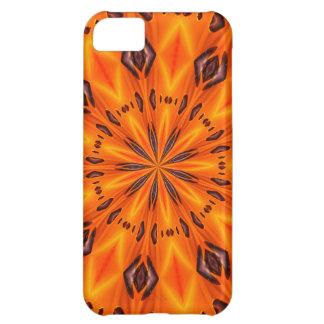 Orange Lily Medallion iPhone 5C Case