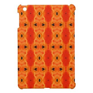 Orange Lily Pattern Case For The iPad Mini