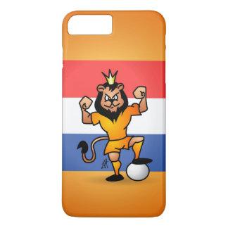 Orange lion soccer hero iPhone 7 plus case