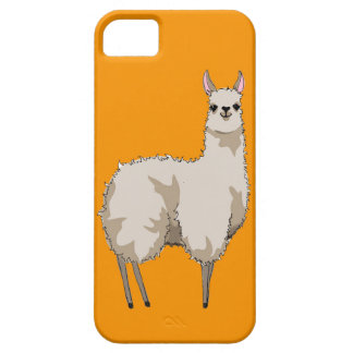 Orange Llama Phone Case