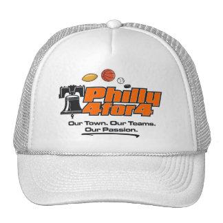 Orange Logo White Hat