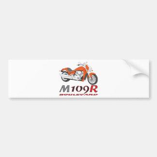 Orange M109R Bumper Sticker