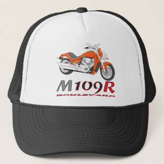 Orange M109R Trucker Hat
