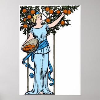 Orange Maiden Poster