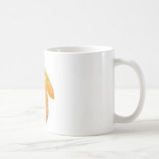 Orange Mandala Turtle Coffee Mug