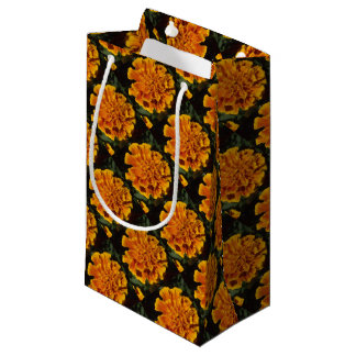 Orange Marigold Gift Bag
