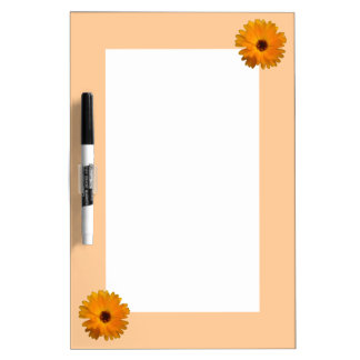Orange Marigold Memo Board