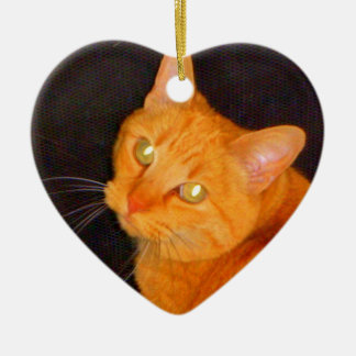 Orange marmalade christmas ornament