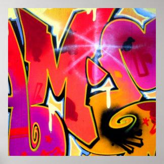 Orange Mash-Up Poster