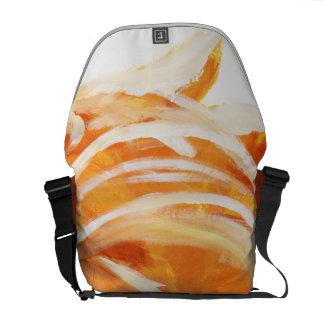 Orange Messenger Bags