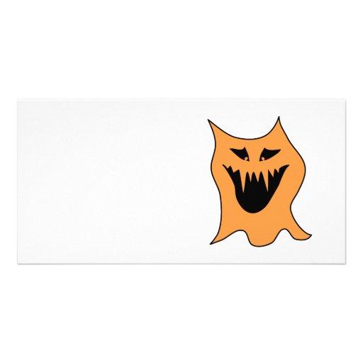 Orange Monster. Photo Cards