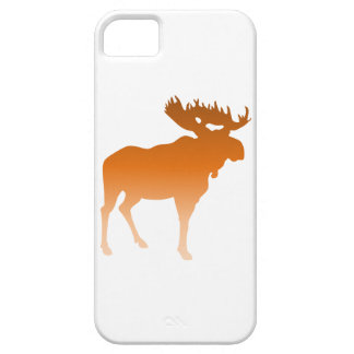 Orange Moose Barely There iPhone 5 Case