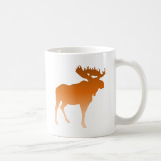Orange Moose Coffee Mug