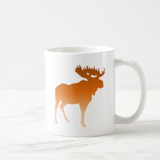 Orange Moose Coffee Mug
