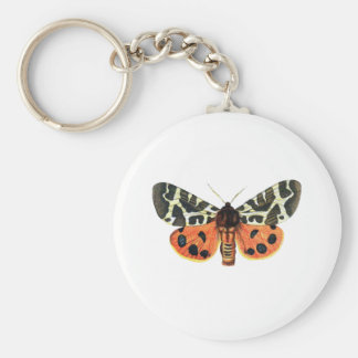 orange moth keychains