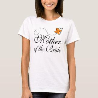 Orange Mother Of The Bride T-Shirt