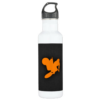 Orange Motocross 710 Ml Water Bottle
