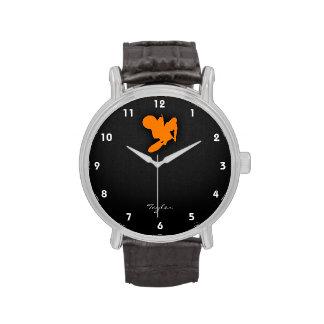 Orange Motocross Watch