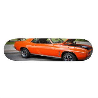 Orange Muscle Skateboard Deck