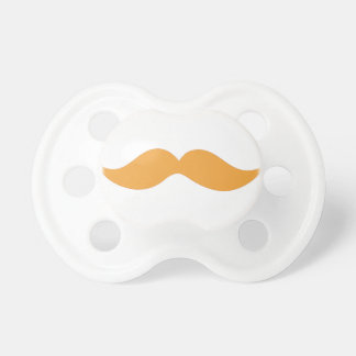 Orange Mustache Dummy