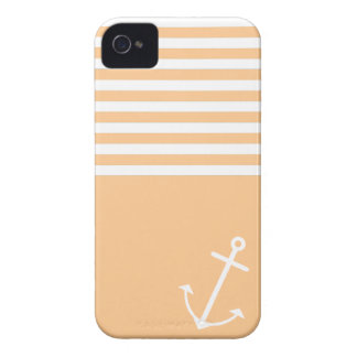 Orange Nautical iPhone 4 Cases