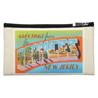 Orange New Jersey NJ Vintage Travel Postcard- Cosmetics Bags