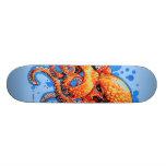orange octopus skate decks