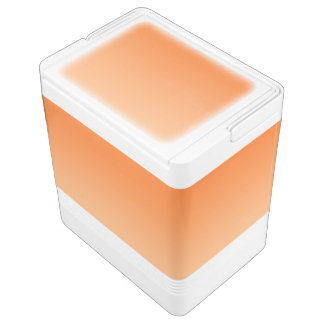 Orange Ombre Igloo Cooler