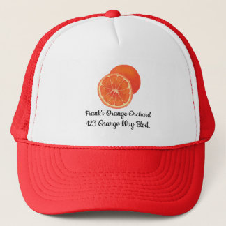 Orange Orange Orchard Promotional Hats