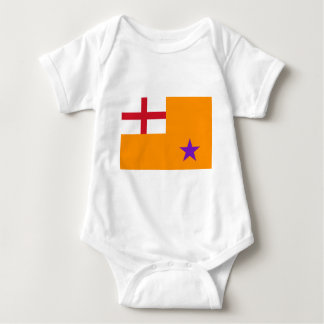 Orange Order Flag Baby Bodysuit