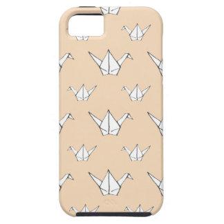 Orange Origami Cranes Case For The iPhone 5