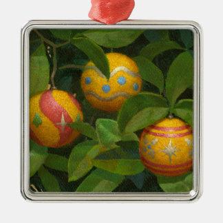 Orange Ornaments Christmas mug