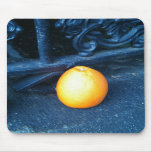 Orange over and click mousemat mouse pads