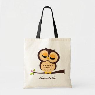 Orange Owl Bags