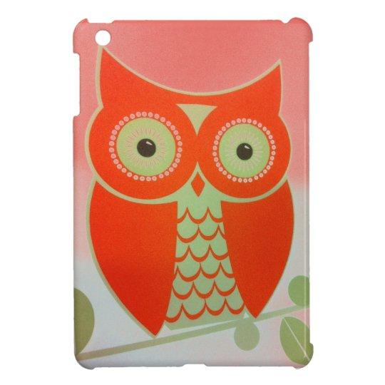 ORANGE OWL Case Savvy Glossy iPad Mini Case