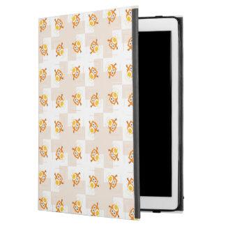 "Orange Owl Illustration Pattern iPad Pro 12.9"" Case"