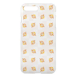 Orange Owl Illustration Pattern iPhone 8 Plus/7 Plus Case