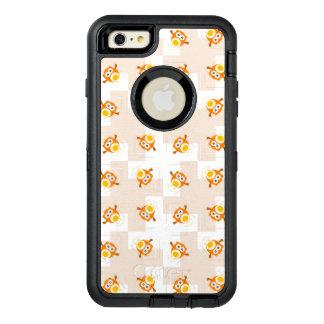 Orange Owl Illustration Pattern OtterBox iPhone 6/6s Plus Case