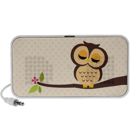 Orange Owl iPod Speaker