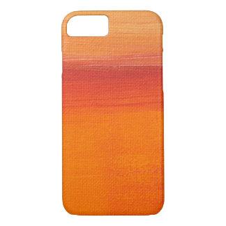 Orange Paint Canvas Case