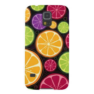 Orange pattern and background galaxy s5 cases