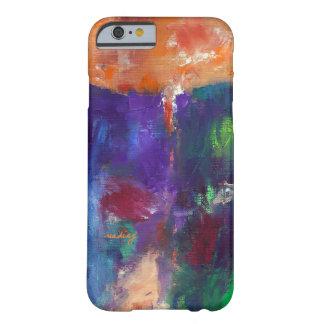 Orange Peek Abstract Art Phone Case Samsung Galaxy S4 Cover